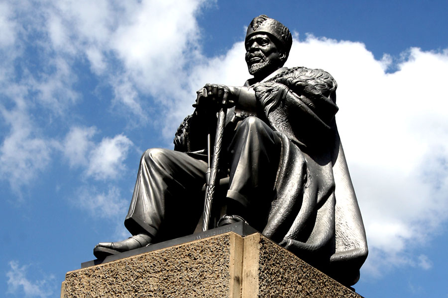 Statue of Jomo Kenyatta
